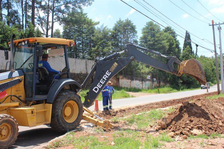 Acostamento da Avenida Dr. Rodrigues Alves recebe pavimentação