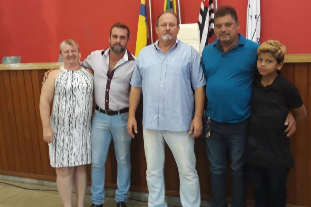 Formiguinha acaba de ser eleito presidente da Câmara de Mombuca