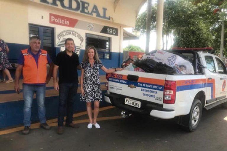 Fundo Social de Elias Fausto realiza  doação de roupas para a Defesa Civil de Monte Mor