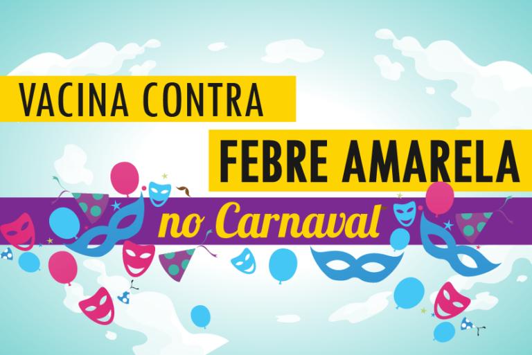 Prefeitura de Porto Feliz alerta para vacinação no Carnaval