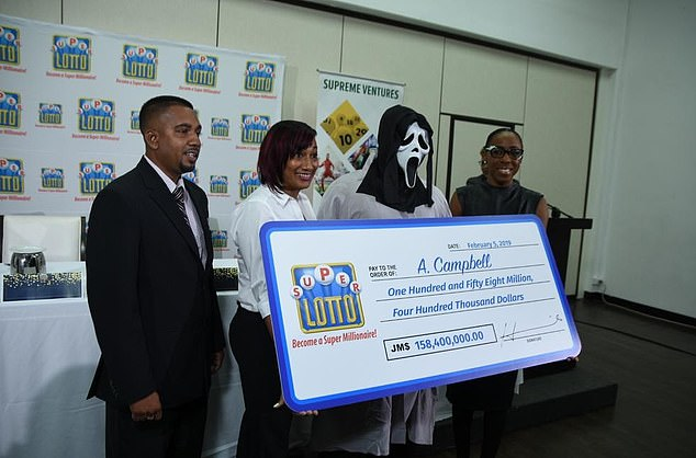 Conheça o homem que ganhou 1 milhão na loteria e usou máscara para que a família não pedisse dinheiro