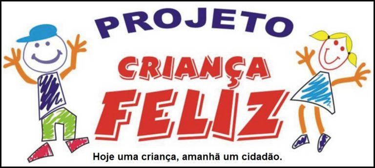 Projeto Criança Feliz beneficia famílias inscritas no cadastro único