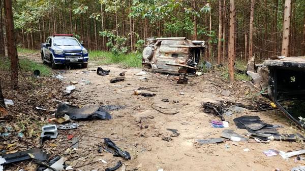 GM estoura desmanche de veículos em Monte Mor
