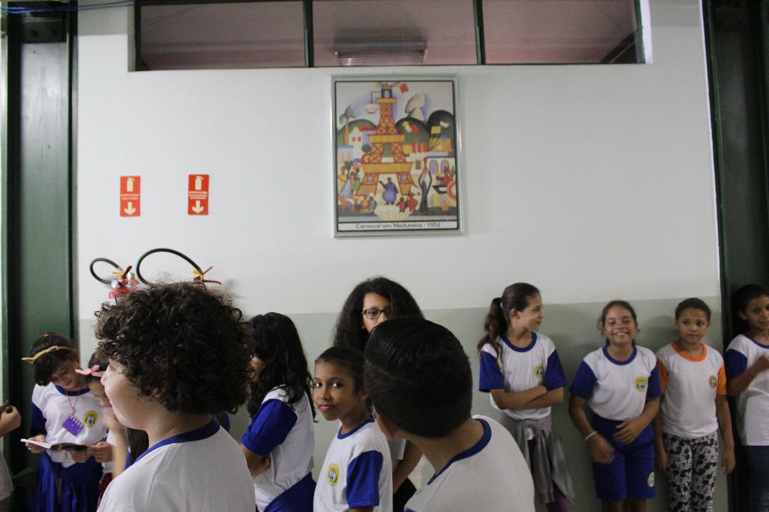 Escola de Hortolândia fará releitura de obras para a Galeria Tarsila do Amaral