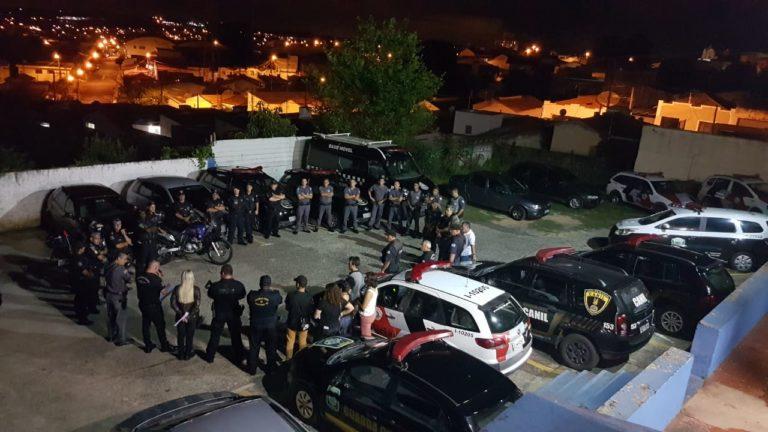 Guarda Civil, Polícia Civil e Militar realizam mega operação em Capivari