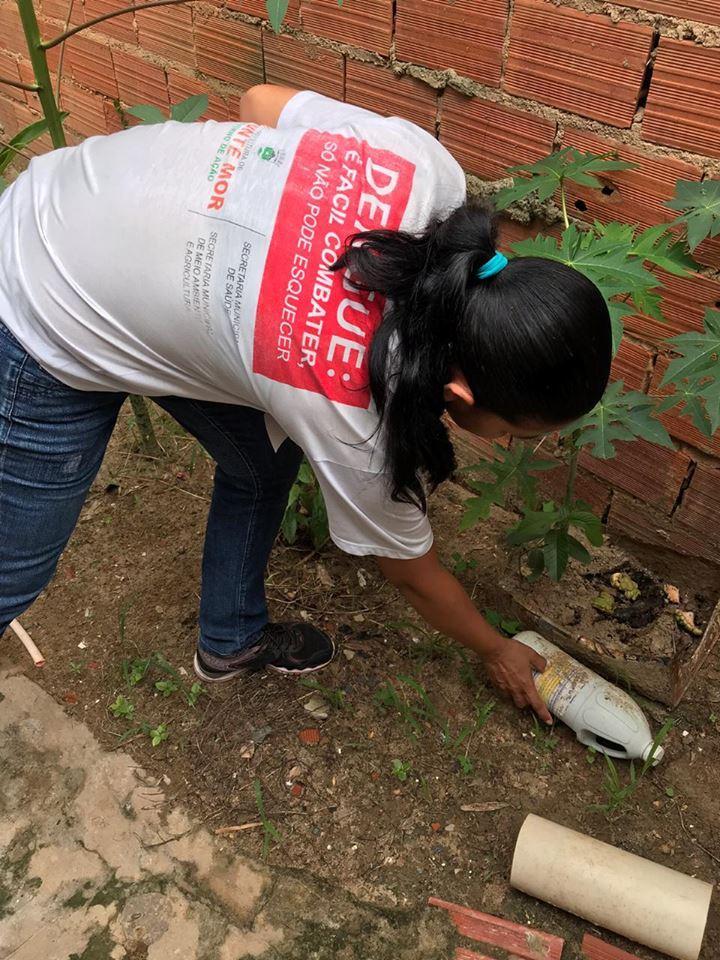 Mutirões de Monte Mor recolhem mais de 4 toneladas de materiais acumuladores de dengue