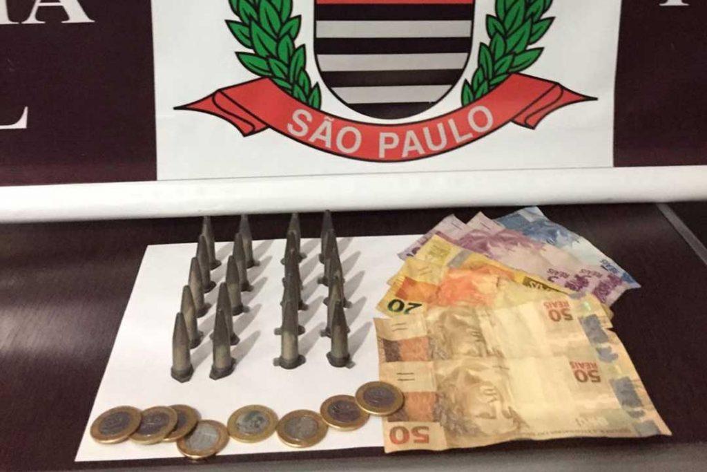 Sig apreende drogas e detém suspeito de tráfico em bairro de Capivari