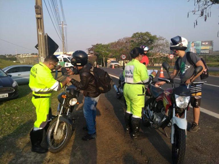 Monte Mor recebe campanha de prevenção de acidentes com motociclistas