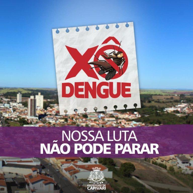Capivari registra casos de dengue e faz campanha de conscientização para eliminar criadouros