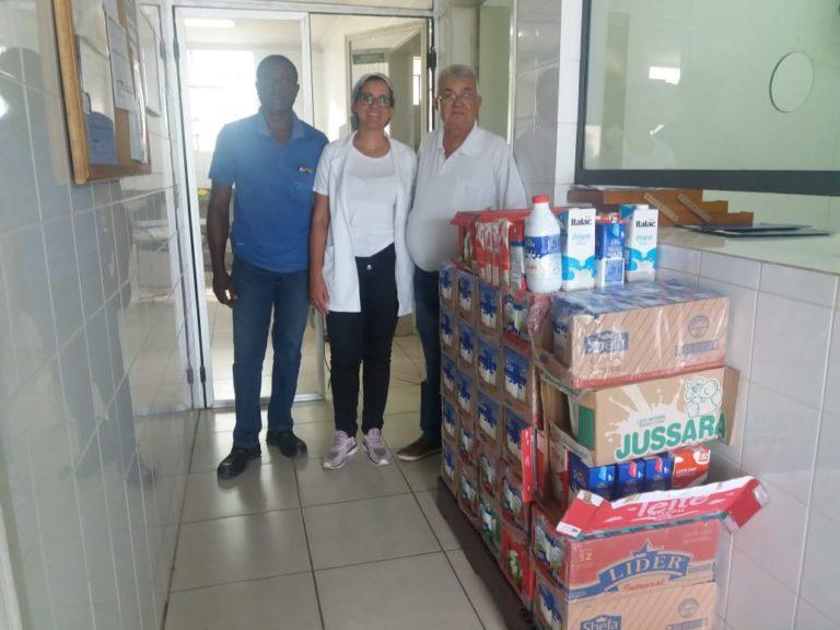 Turma da Barca faz doações para entidades de Capivari; Apenas para a Santa Casa de Misericórdia, foram mais de 350 litros de Leite