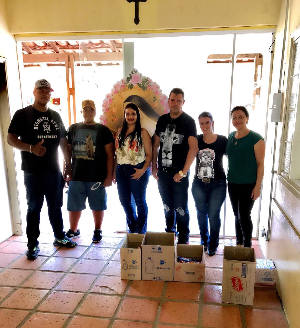 Imperium Music Club faz doação para Instituição Santa Rita de Cássia