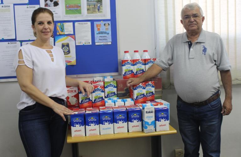 Prefeitura mobiliza ação para arrecadação de leite para a Santa Casa