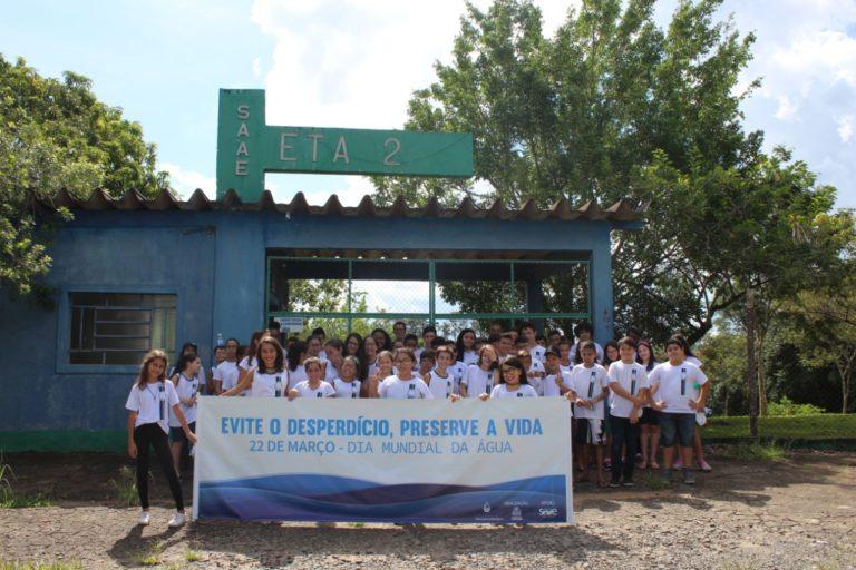 Semana da Água é celebrada em Capivari com atividades de educação ambiental e limpeza de córrego