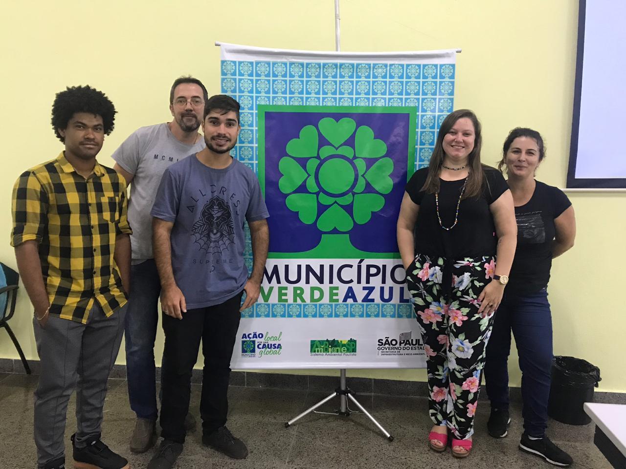 Capivari participa de capacitação para a conquista do selo do Município Verde Azul