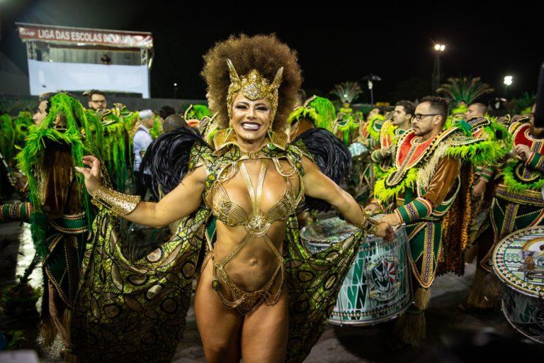 Mancha Verde é a campeã do carnaval de SP pela 1ª vez