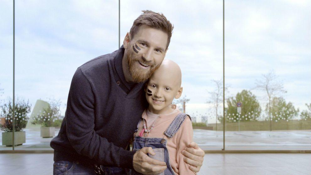 Messi construirá o maior centro de tratamento de câncer infantil da Europa