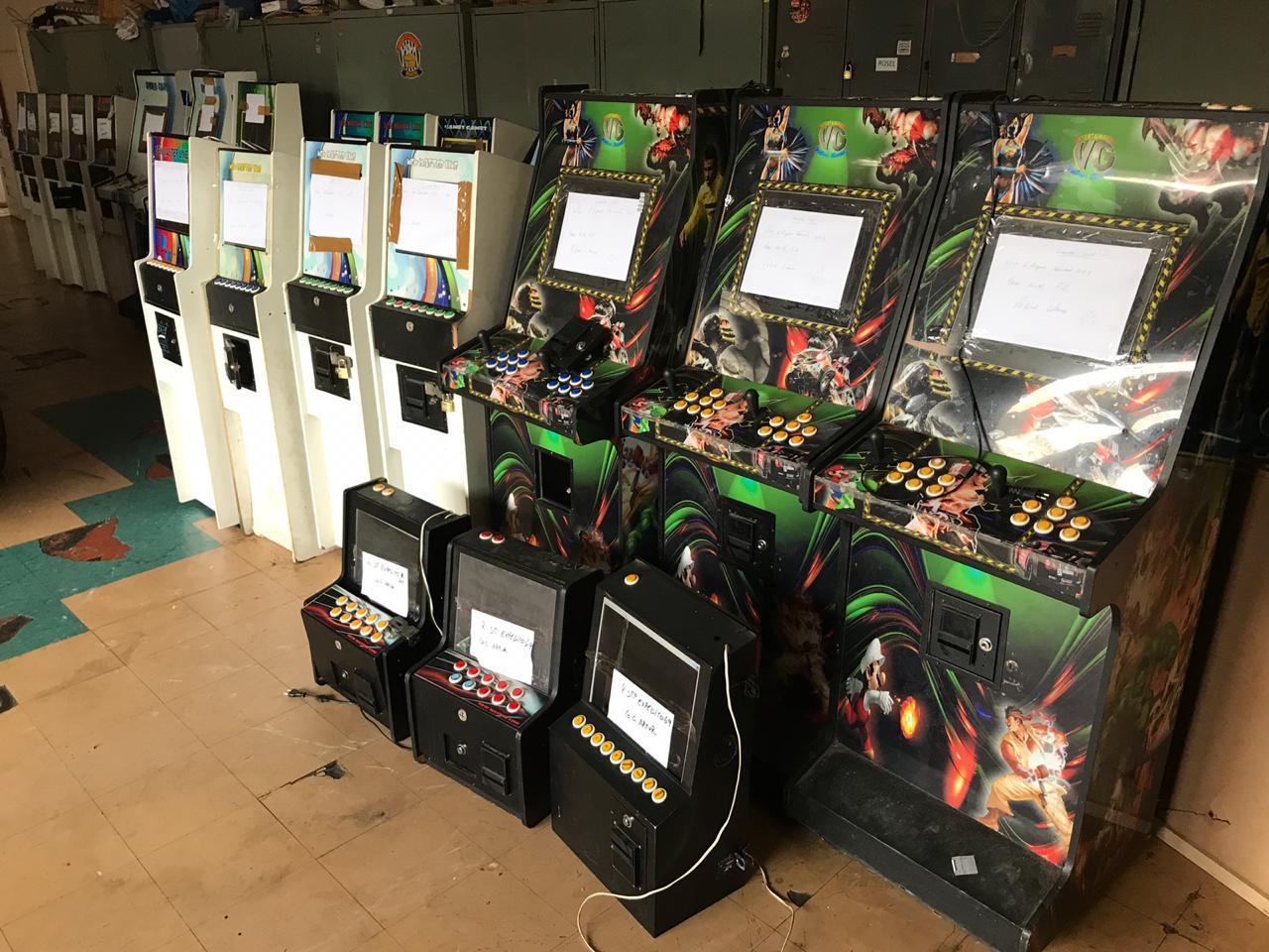 Polícia civil de Piracicaba realiza Operação Caça-Níqueis; 45 máquinas foram apreendidas