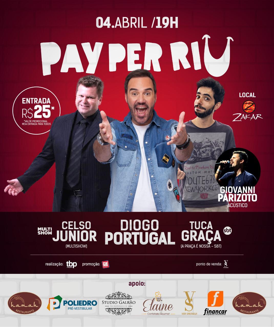 Pay Per Riu tem mudança de artista principal
