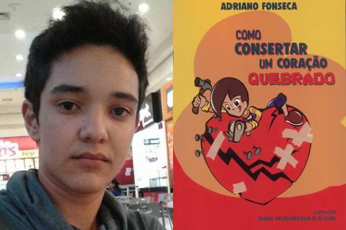 Samuel, 16 anos, vítima de Suzano, ilustrou livro sobre superar a dor