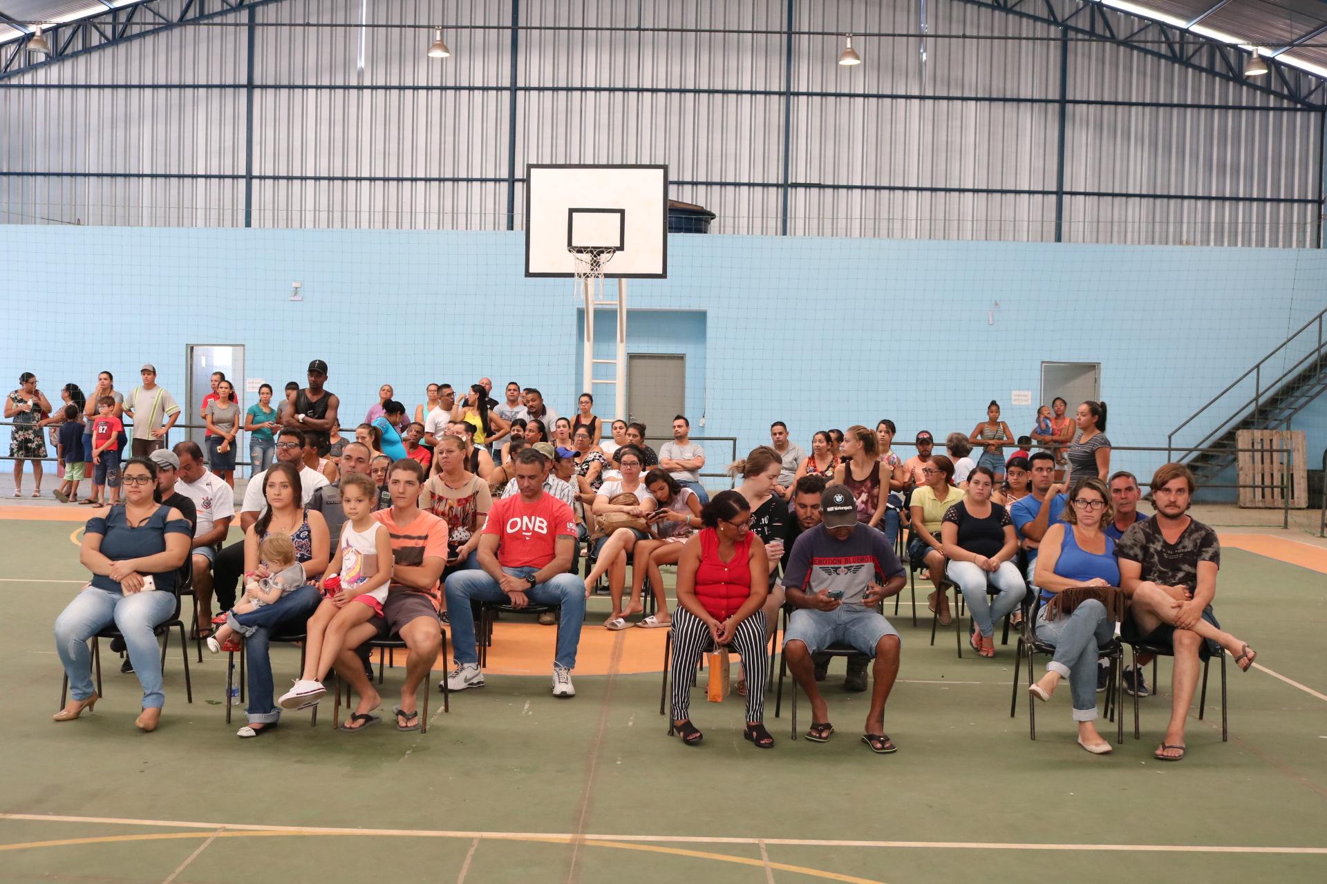 Sorteados pela CDHU, moradores escolhem endereços das Casas Populares