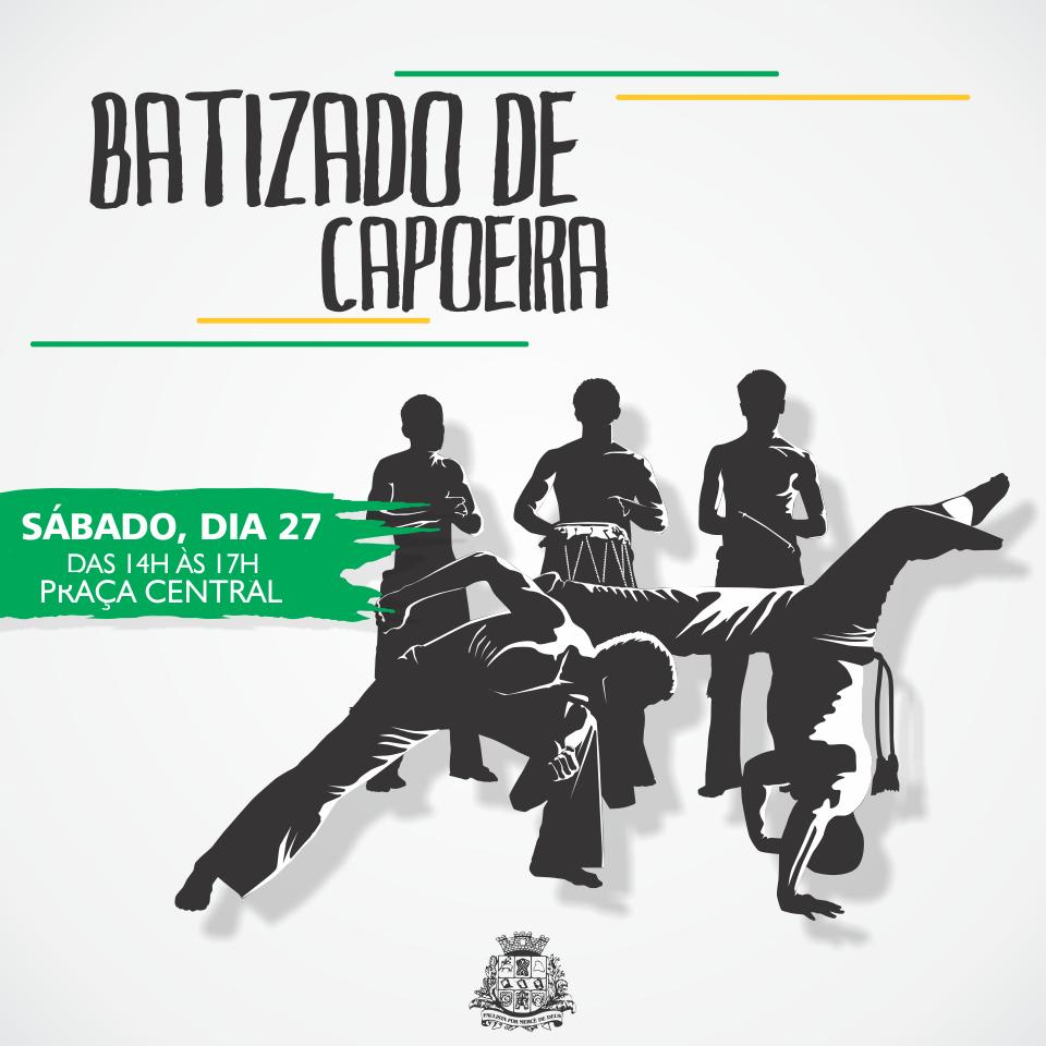 Academia de Capoeira Herança Negra fará troca de cordões e batismo dos alunos neste sábado