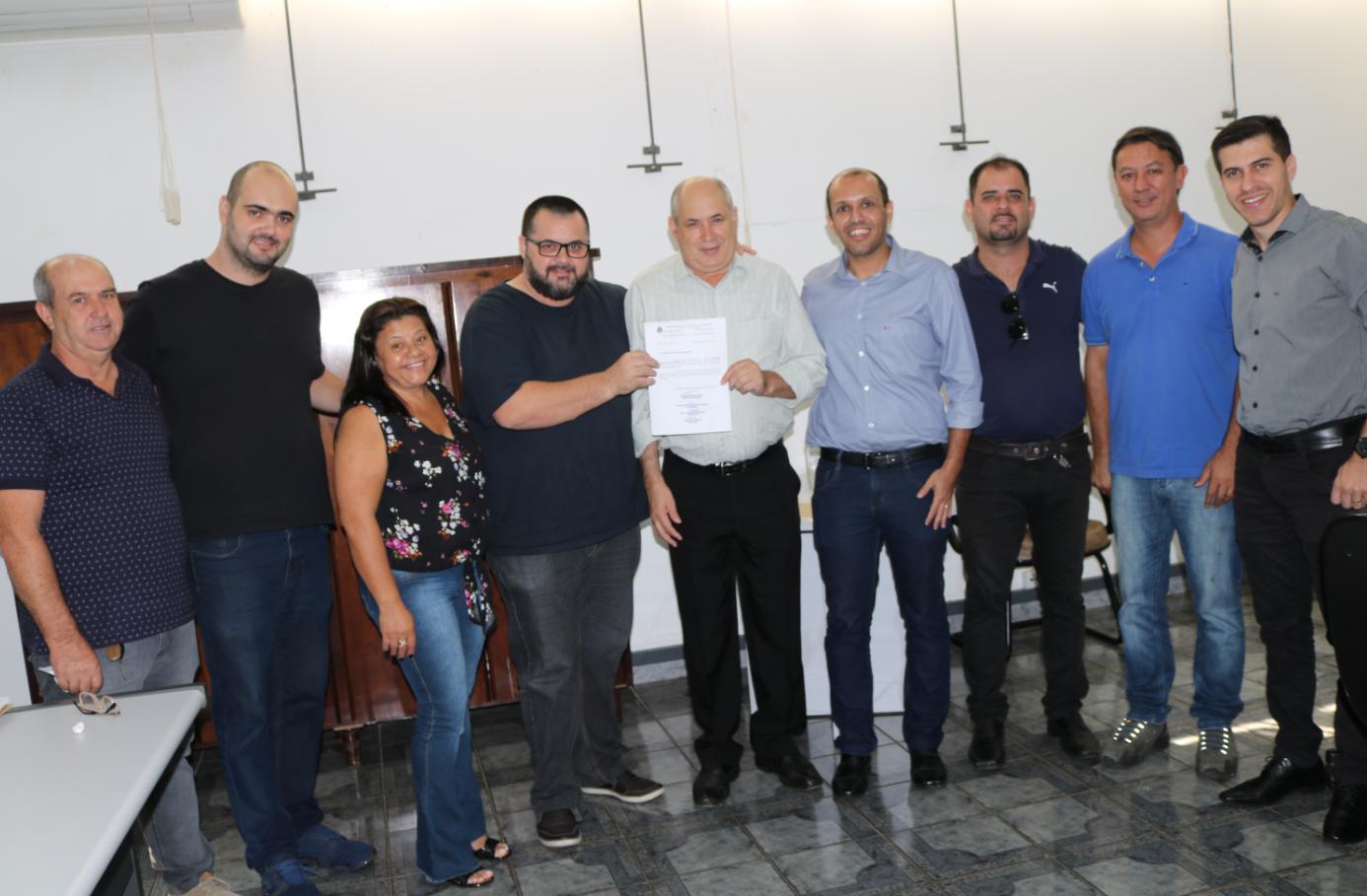 Assessor do Deputado Federal Bozzella visita Rafard
