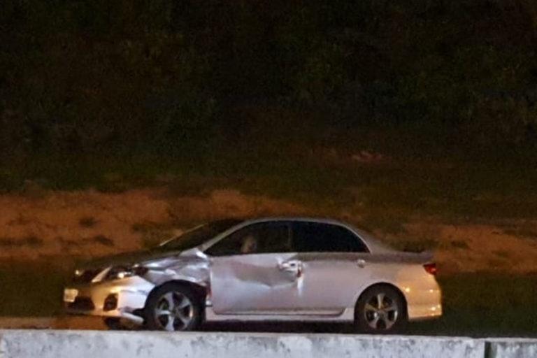 Colisão entre carro e moto deixa duas pessoas feridas em Capivari