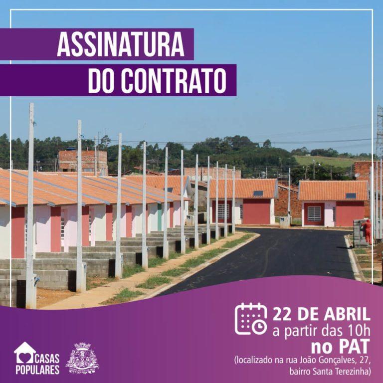 Prefeitura de Capivari anuncia entrega das Casas Populares para a próxima terça-feira