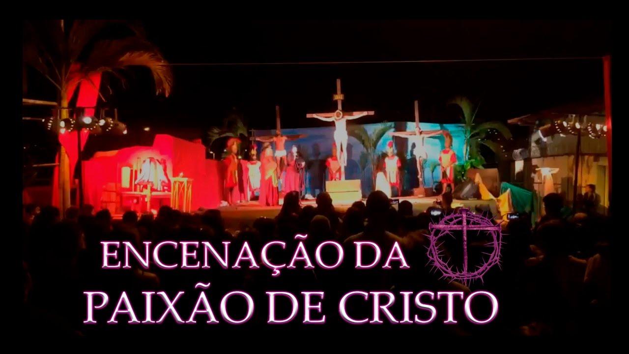 Encenação da Paixão de Cristo acontece no dia 19 de abril