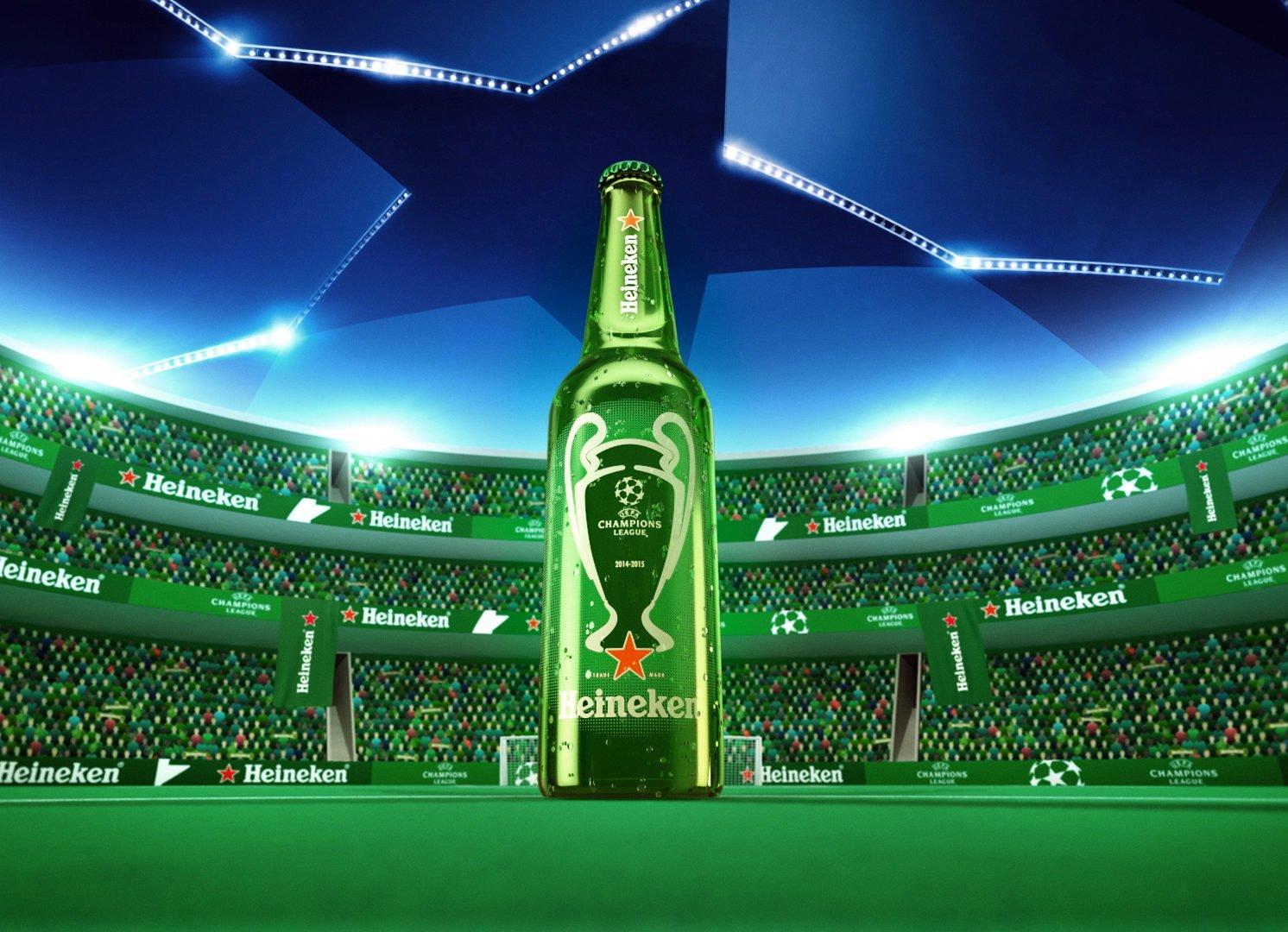 Heineken® leva a UEFA Champions League a lugares inusitados com ação que transmitirá a grande final da Liga dos Campeões em 28 pontos espalhados por 3 cidades do Brasil