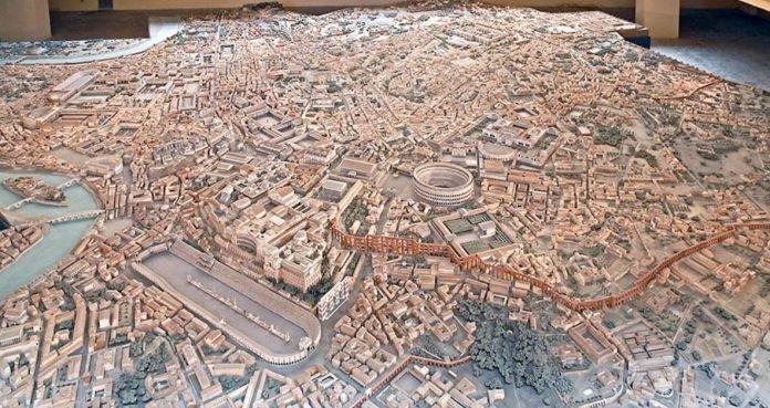 Arqueólogo leva 36 anos para montar maquete perfeita da Roma Antiga