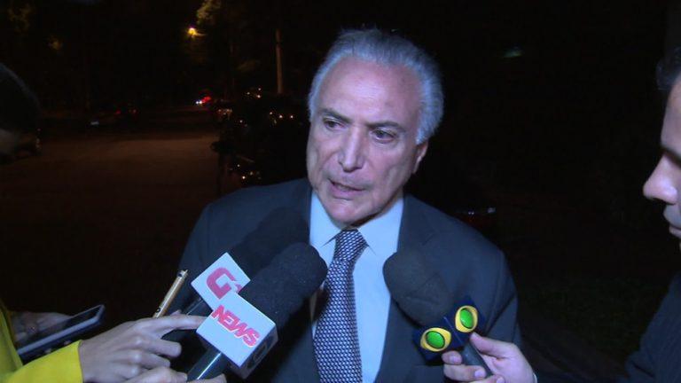 Juíza expede mandado de prisão contra o ex-presidente Michel Temer e Coronel Lima