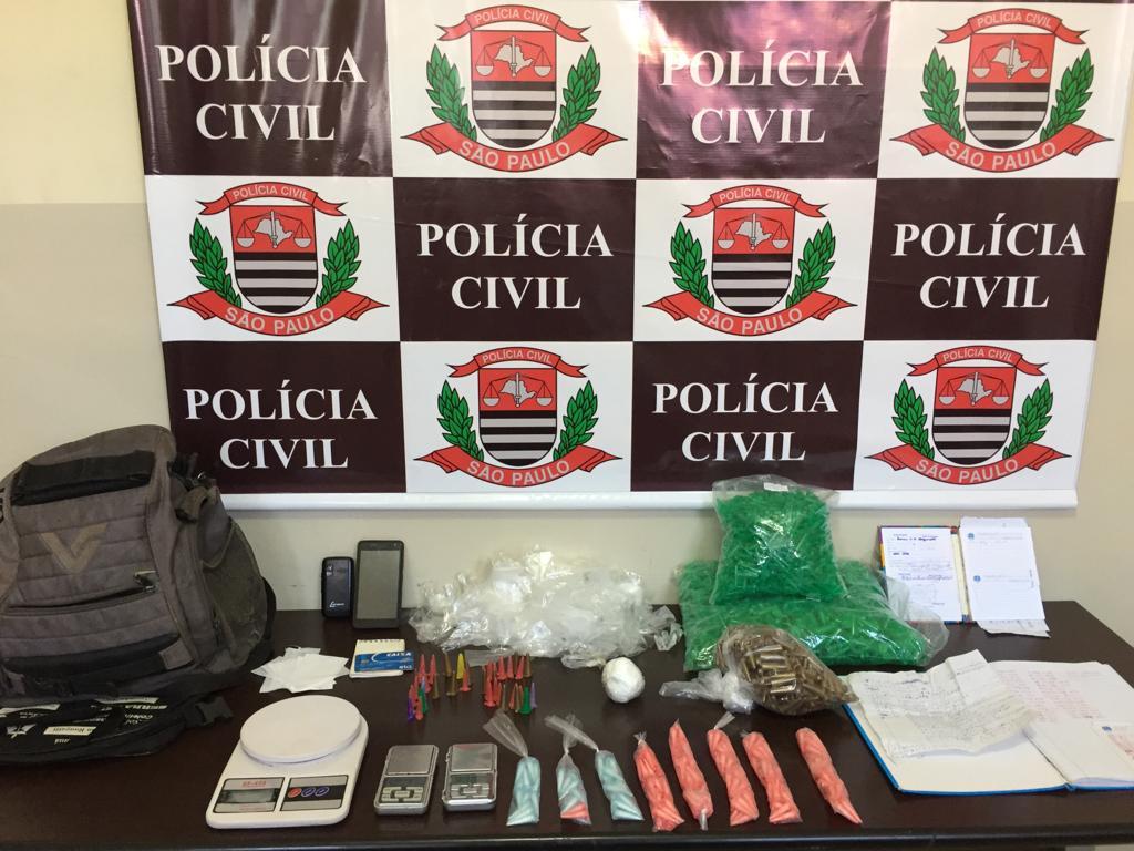 Operação contra o tráfico prende três pessoas no bairro São João