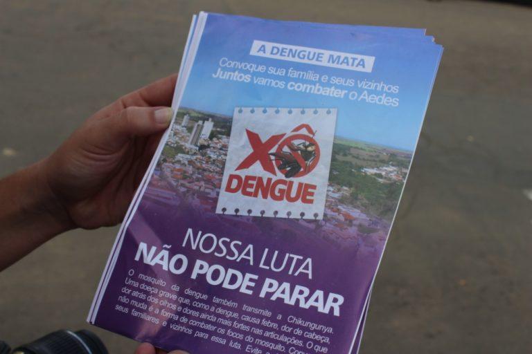 Campanha contra a dengue continua em Capivari