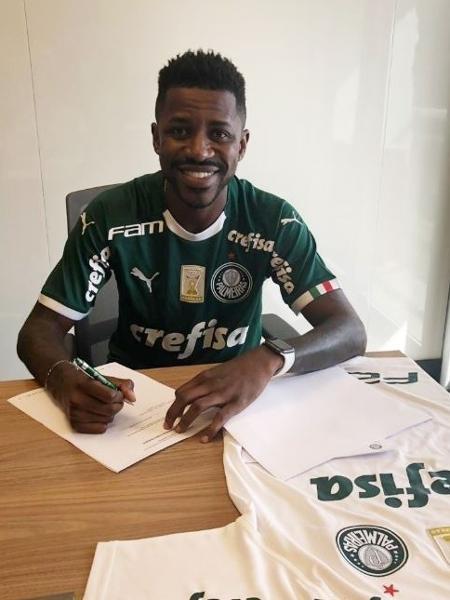 Palmeiras anuncia a contratação do volante Ramires