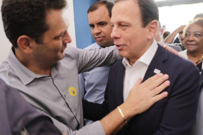 Prefeito Thiago encontra-se com governador João Dória