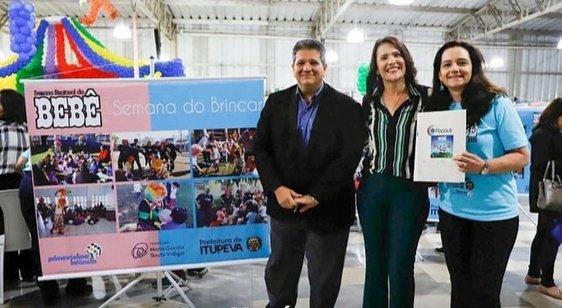 Valéria Bolsonaro participa da décima semana do Bebê e oitava semana regional do bebê