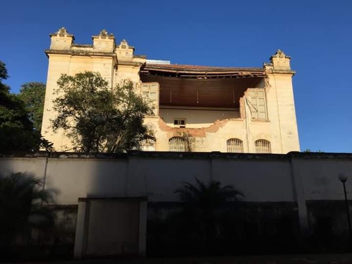 Descaso do Governo de SP provoca dano no patrimônio histórico de Capivari