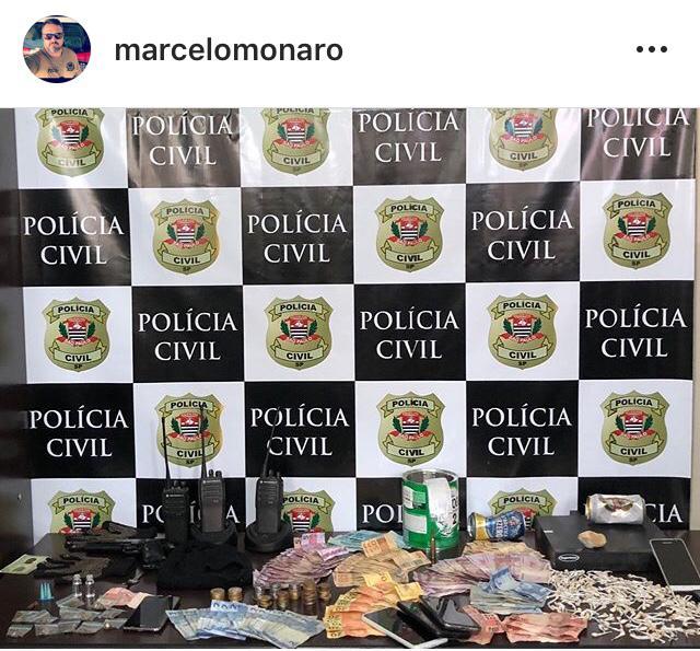 Onze pessoas são presas no Castelani por tráfico de drogas