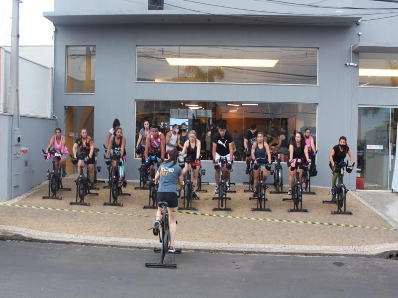 """Academia Body Gym realiza """"aulão do Black Friday"""""""